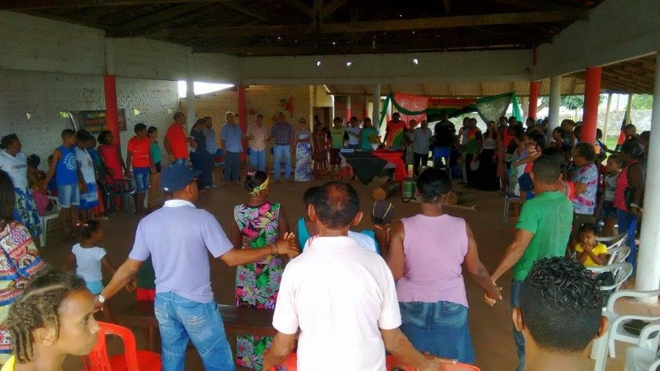 Photo of Comunidades quilombolas de Bequimão se reúnem no quilombo Ariquipá.
