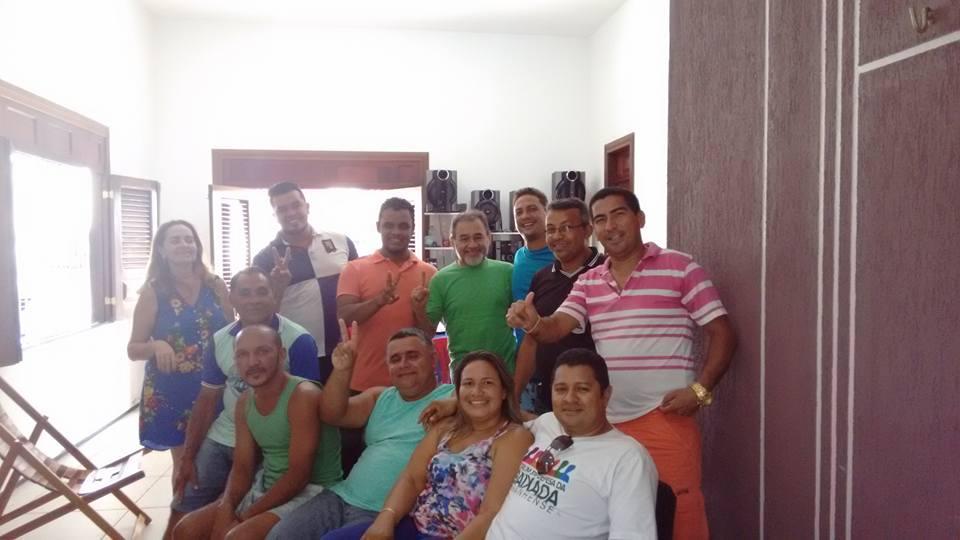 Foto de PT de Bequimão bate o martelo e fecha com o PDT de Antônio Diniz