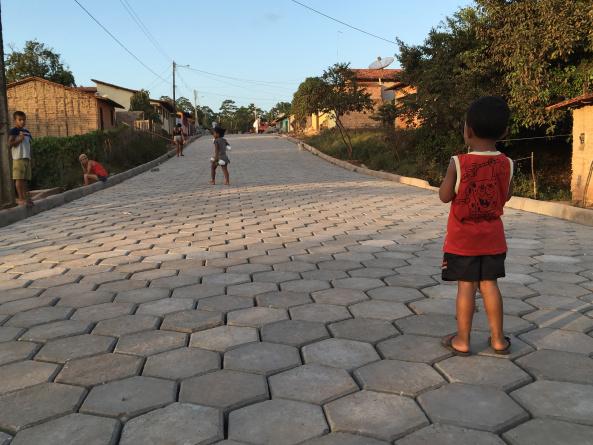 Photo of Prefeitura de Bequimão avança no calçamento em bloquete no bairro Estiva