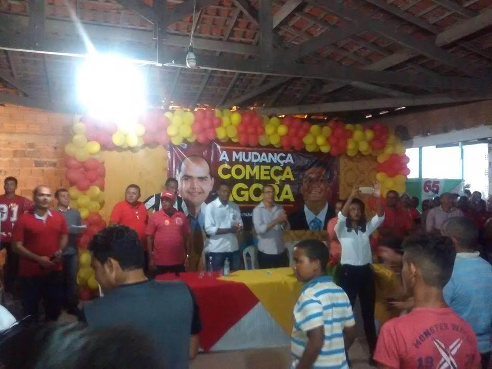 Photo of PCdoB de Alcântara oficializa a candidatura de Anderson a prefeitura do município