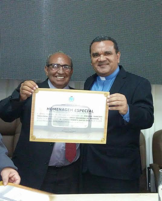 Photo of Vereador Francisco Chaguinhas (PP) presta homenagem à Rádio Educadora do Maranhão