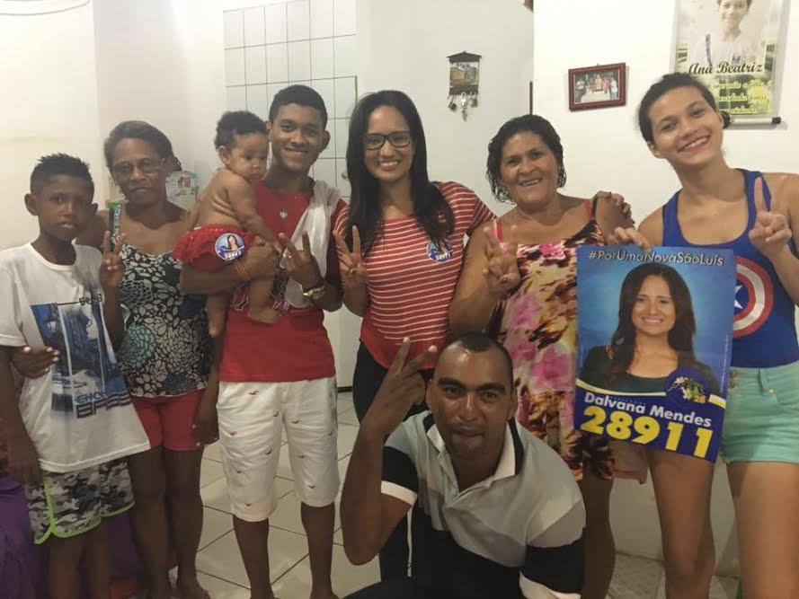 Photo of Dalvana Mendes tem grande aceitação nas comunidades de São Luís