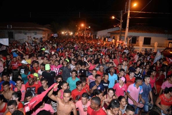 Photo of Mais de 6 mil pessoas participam de caminhada do prefeito Zé Martins em Bequimão