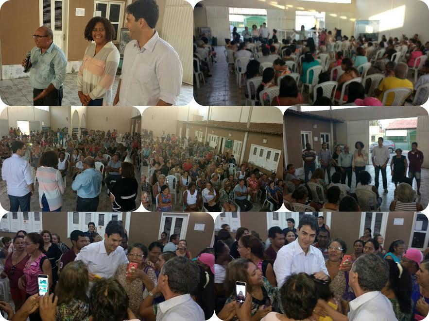 Photo of Ao lado de Chaguinhas e Rose Sales, Eduardo Braide voltam à Casa da Família para agradecer os votos recebidos