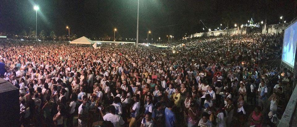 Photo of Mais de 150 mil fiéis lotaram a Praça Maria Aragão durante Missa de Encerramento do Festejo da Conceição em São Luís