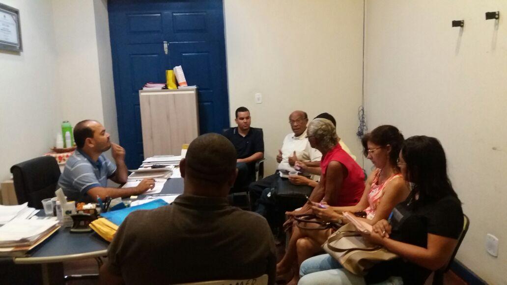 Photo of Prefeito Anderson recebe Secretário Diego Galdino em seu gabinete