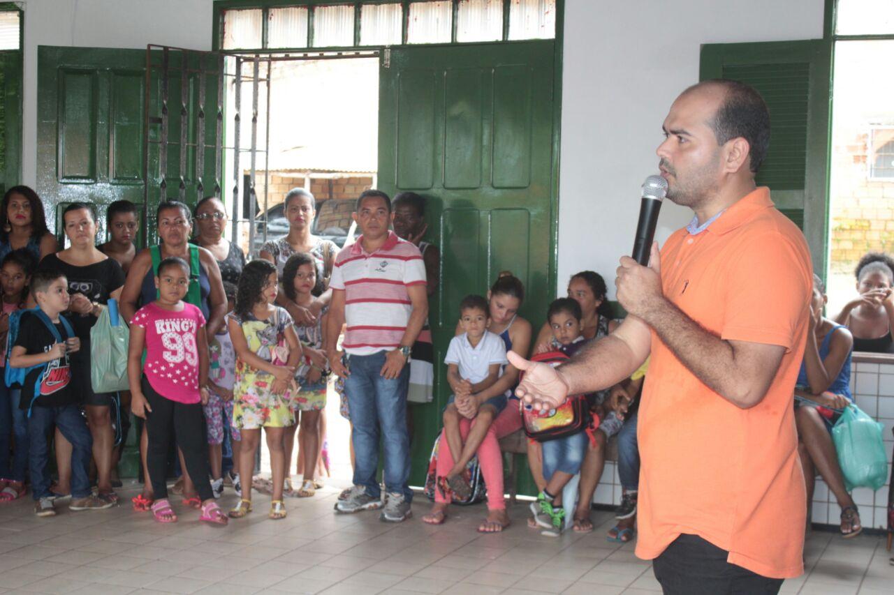 Photo of Prefeito Anderson Wilker entrega Escola reformada em Alcântara