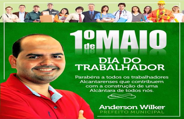 Photo of Prefeito Anderson divulga mensagem em sua página no Facebook pelo Dia Mundial do Trabalhador