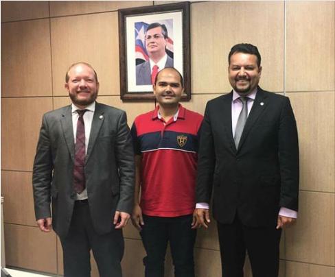 Photo of Prefeito Anderson se reúne com Secretário de Infraestrutura e deputado Othelino Neto