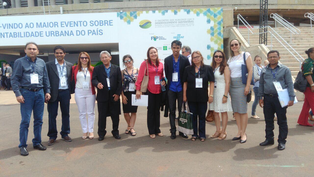 Photo of Agente de Desenvolvimento representa Bequimão no IV EMDS em Brasília-DF