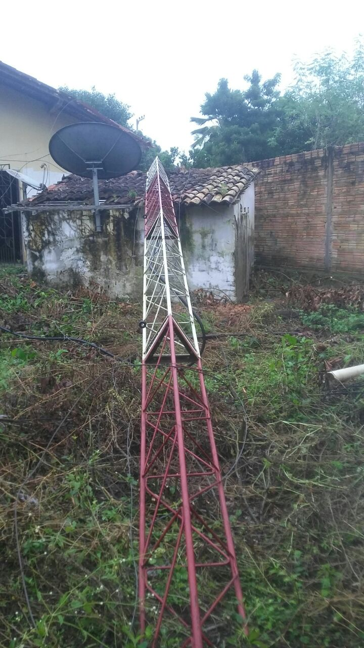 Photo of Torre de TV na cidade de Pirapemas é destruída por vândalos