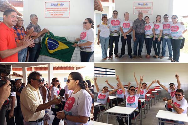 Photo of Prefeito Zé Martins presta homenagem à professora Benedita Moraes (Dona Bibi)