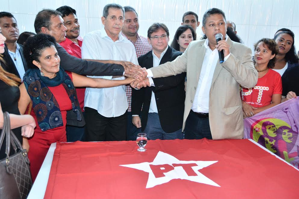 Foto de Vereador Honorato Fernandes toma posse como presidente do PT de São Luís