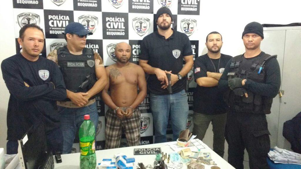 Photo of Criminoso de São Paulo foi preso nesta quarta-feira no município de Bequimão