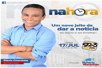 Photo of Flávio Chocolate estreia programa jornalístico dia 17 na Rádio 92,3FM