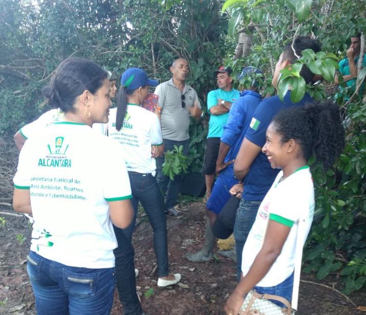 Photo of Secretaria de Meio Ambiente de Alcântara em parceria com órgãos estaduais fiscaliza crime ambiental na zona rural