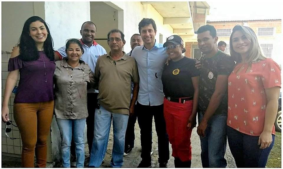 Photo of Projeto Social da vereadora Fátima Araújo recebe visita de Duarte Jr