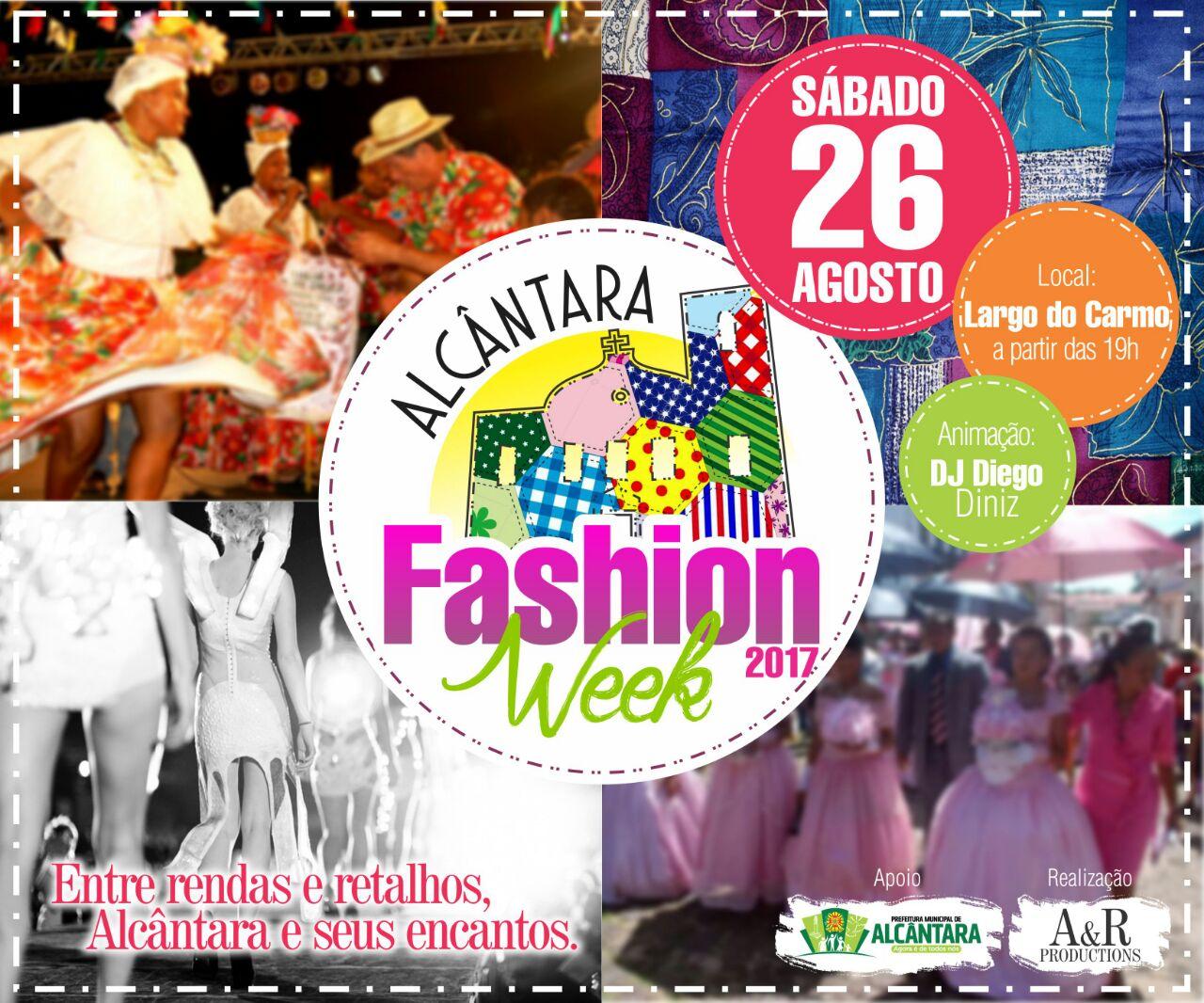 Photo of Cidade Histórica vai receber o I Alcântara Fashion Week dia 26 de agosto
