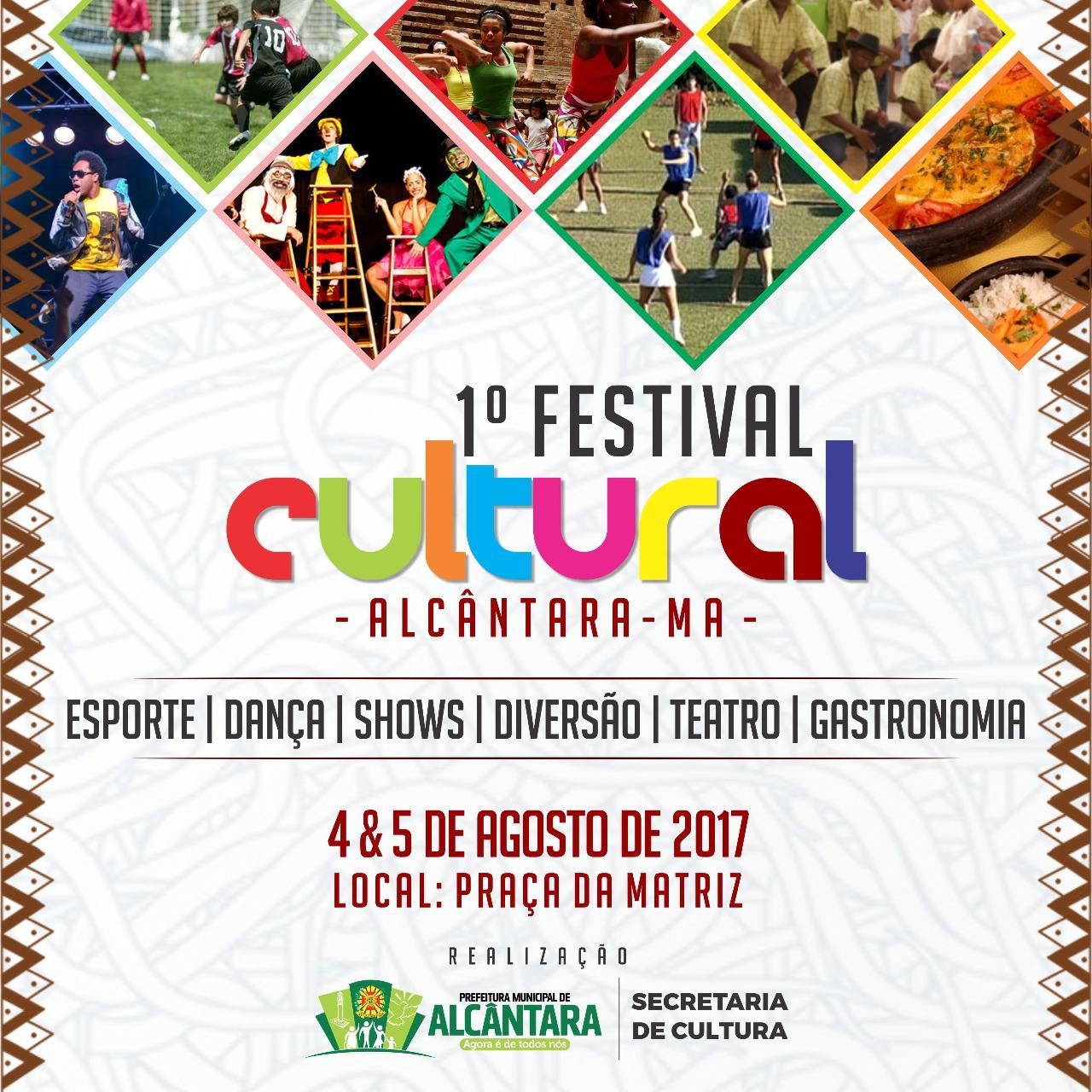 Photo of I Festival Cultural de Alcântara começa nesta sexta-feira (4)