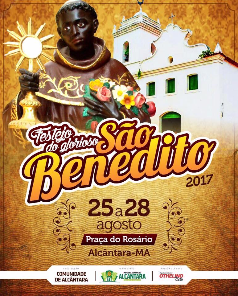 Photo of Festejo tradicional do glorioso São Benedito começa nesta sexta-feira dia 25 de Agosto em Alcântara