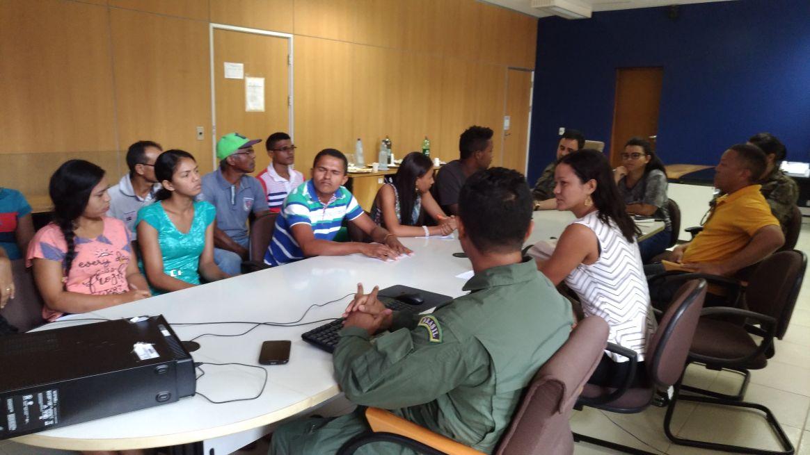 Photo of Secretaria de Meio Ambiente realiza reunião com CLA e Associação de Moradores Quilombolas
