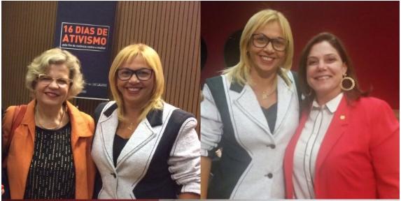 Photo of Bárbara Soeiro representa as mulheres do Maranhão em Seminário em Brasília-DF