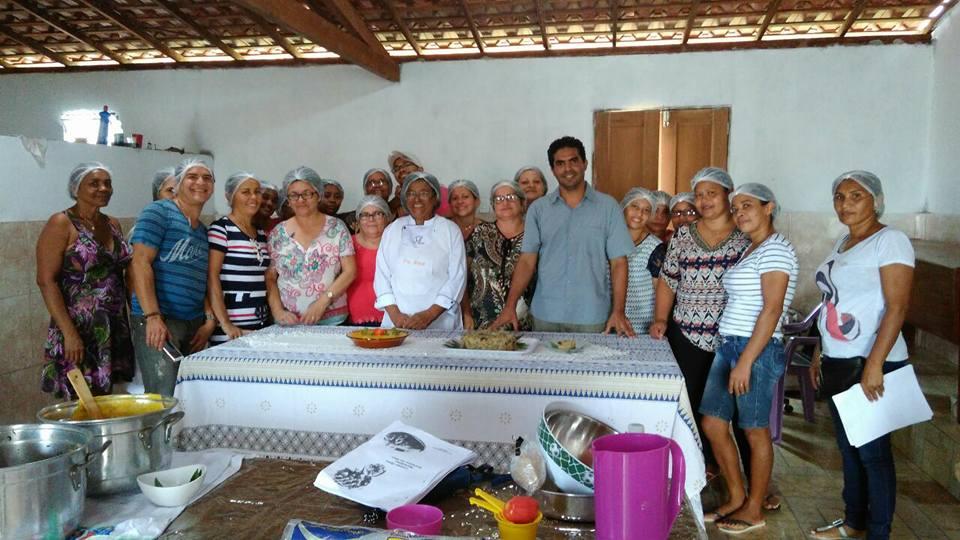 Photo of Bequimãoenses iniciam Curso de Culinária Regional realizado pelo Sebrae-MA