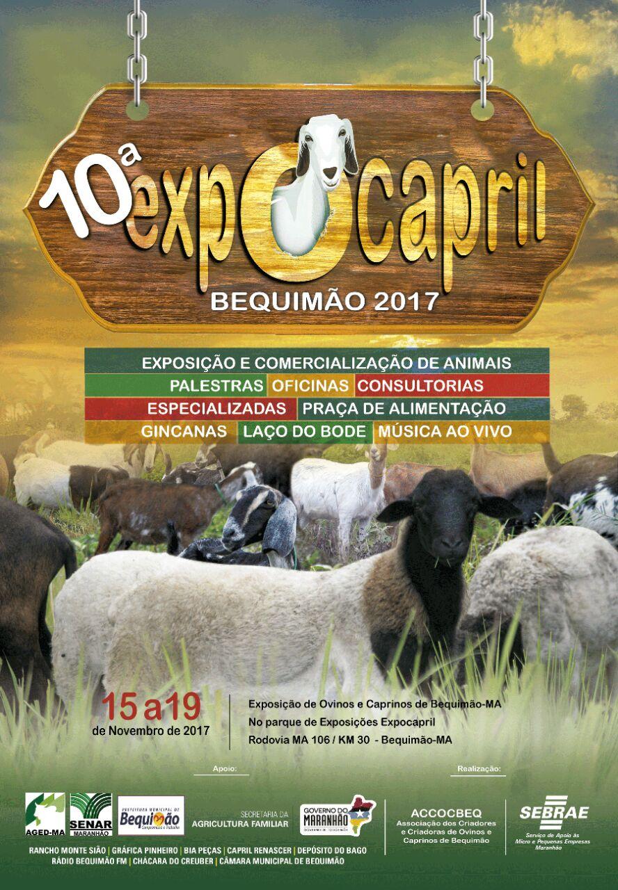 Photo of Vai começar amanhã a 10ª edição da Expocapril em Bequimão