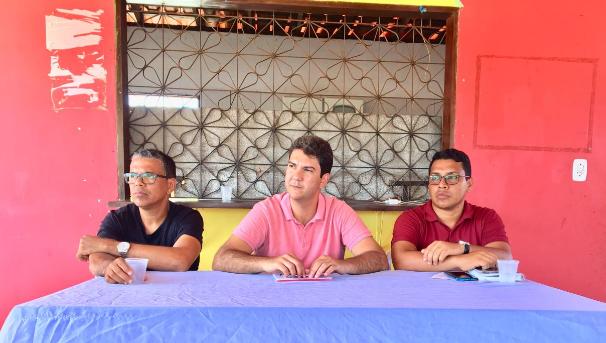 Photo of Eduardo Braide reúne com filiados do PMN na cidade de Alcântara