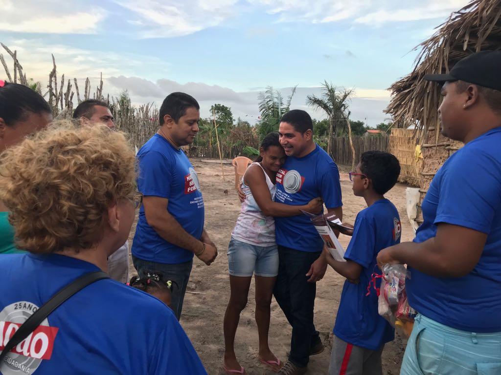 Photo of Deputado Zé Inácio entrega cestas básicas para famílias carentes em Bequimão