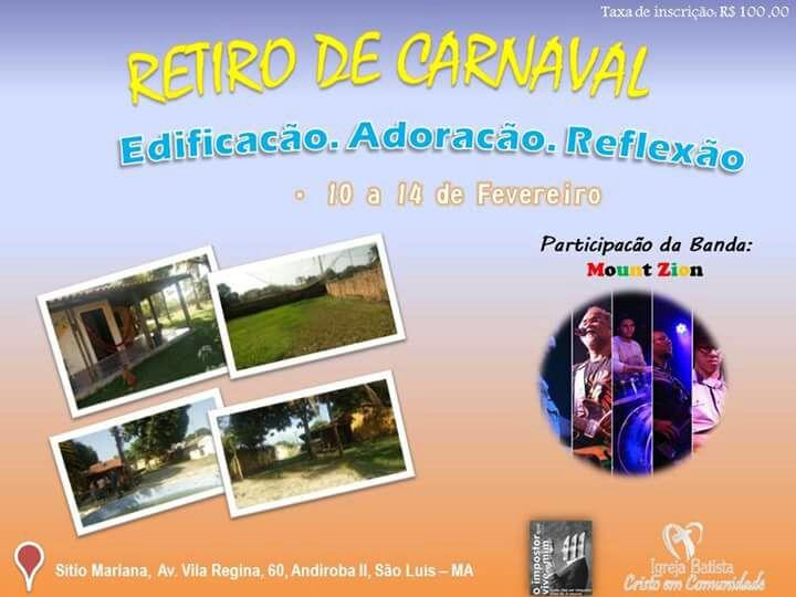 Photo of Retiros culturais é opção para quem deseja fugir da folia do Carnaval