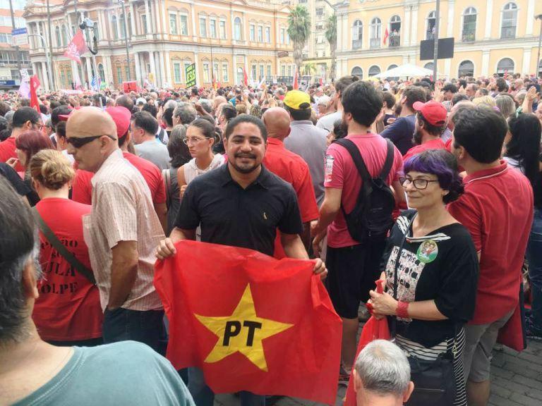 Photo of Zé Inácio participa do lançamento da pré-candidatura de Lula