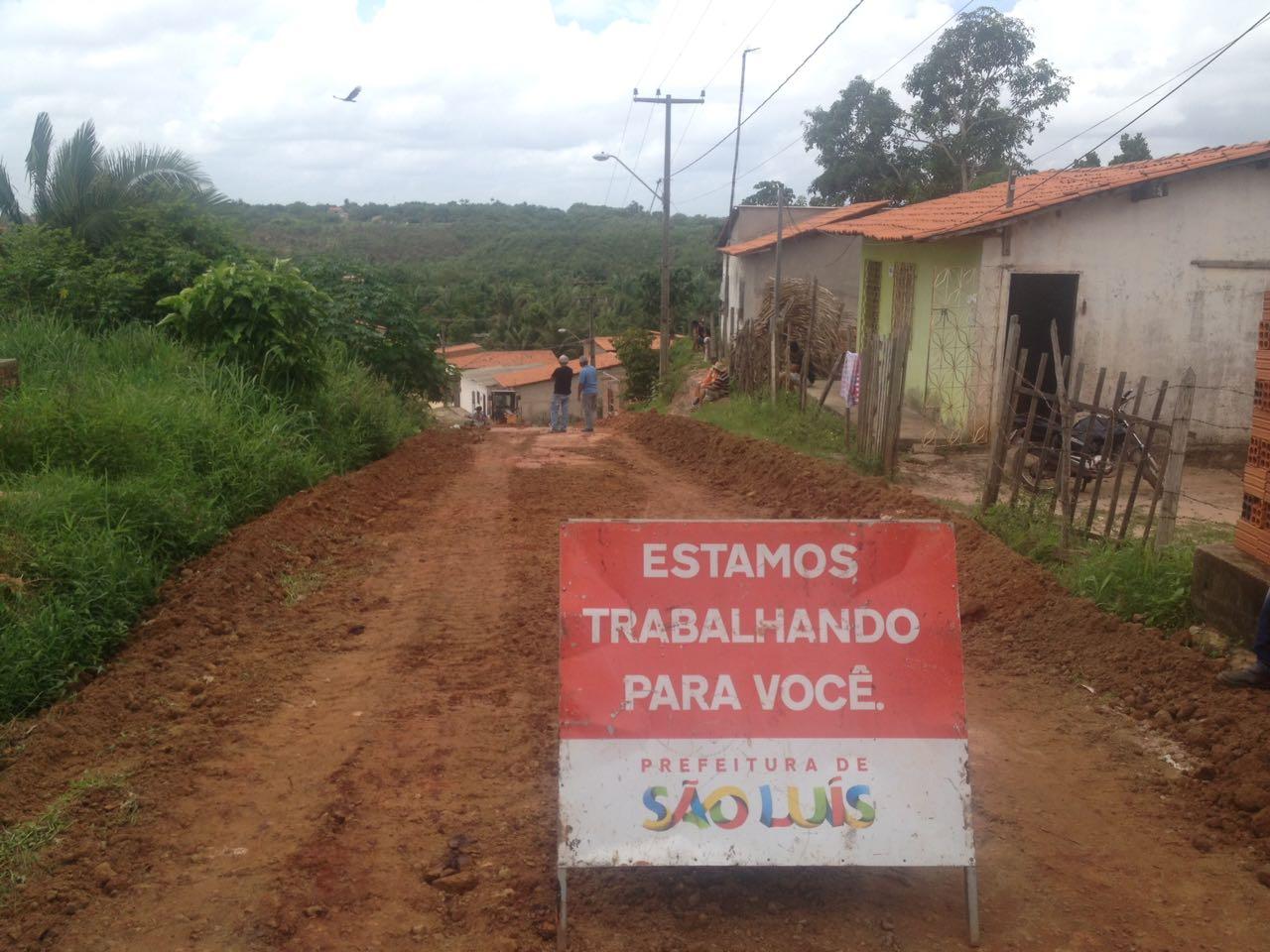 Photo of Prefeitura de São Luís e Semosp melhoram ruas nos bairros Lago Azul no João de Deus e Aurora