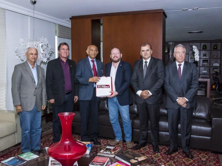 Photo of Othelino recebe visita de dirigentes da Federação das Indústrias do Maranhão