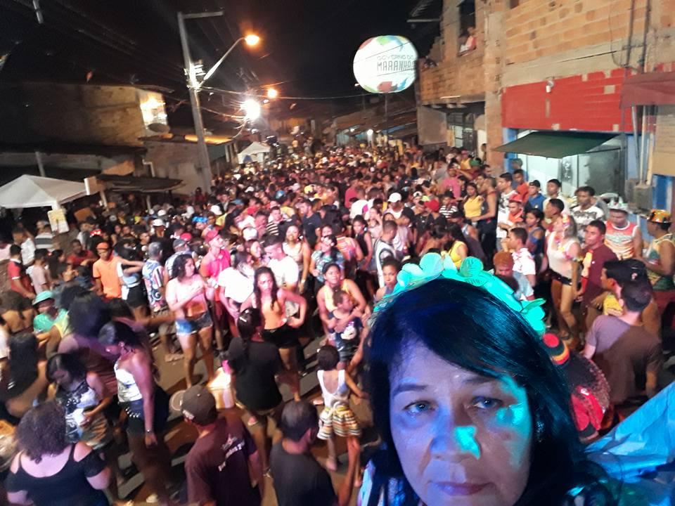 Photo of Domingo de Carnaval foi lotação máxima no bairro Vila Conceição/João de Deus