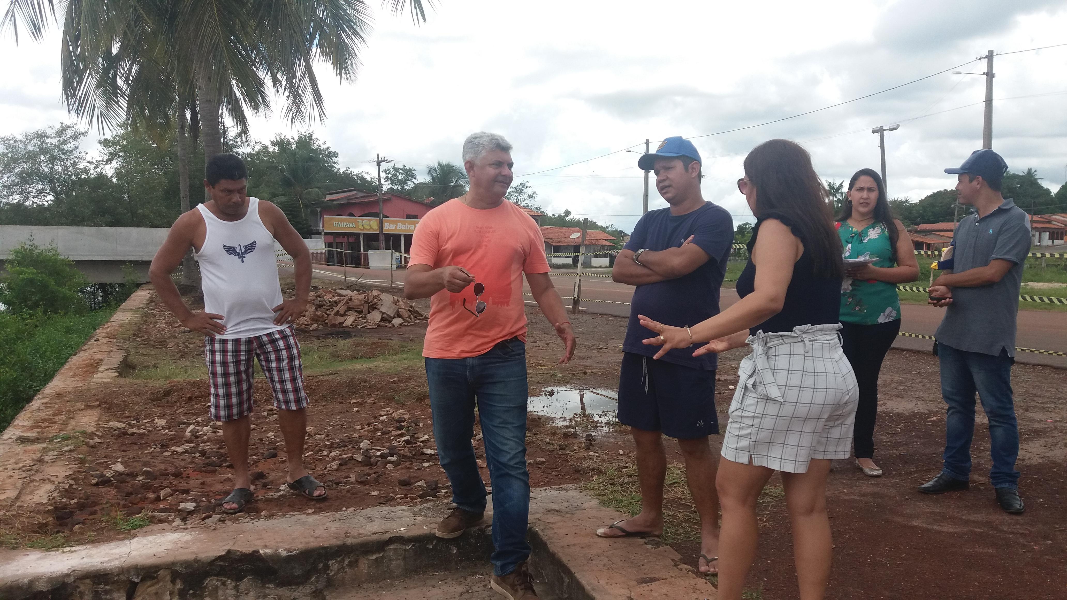 Photo of Prefeito Zé Martins vistoria obras nas zonas rural e urbana de Bequimão