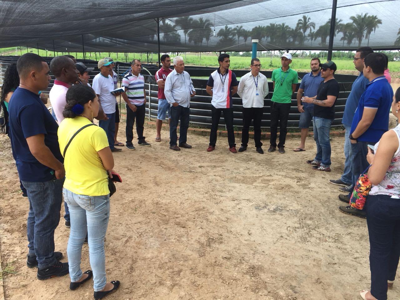 Photo of Piscicultores de Bequimão visitam projeto inovador de criação de peixes em cativeiro no município de Bom Lugar e Fábrica de Ração na cidade de Bacabal