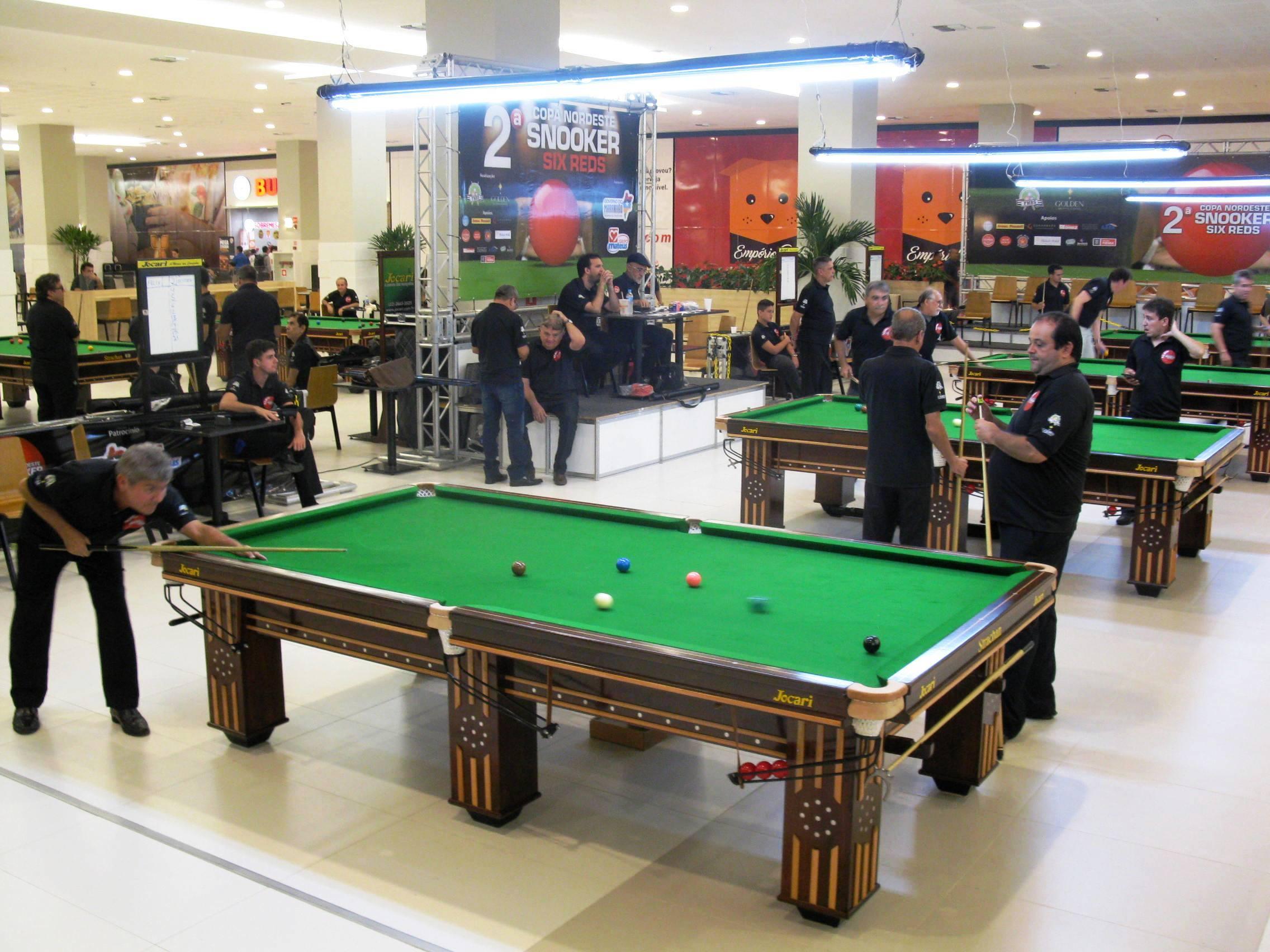 Photo of Campeonato Brasileiro de Sinuca pela primeira vez no Golden Shopping