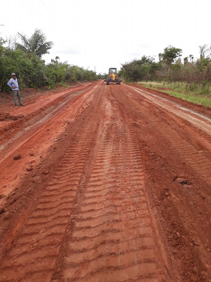 Photo of Prefeitura de Alcântara recuperando estradas vicinais na zona rural do município