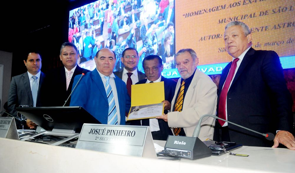 Photo of Astro de Ogum homenageia  ex-presidentes da Câmara Municipal de São Luís