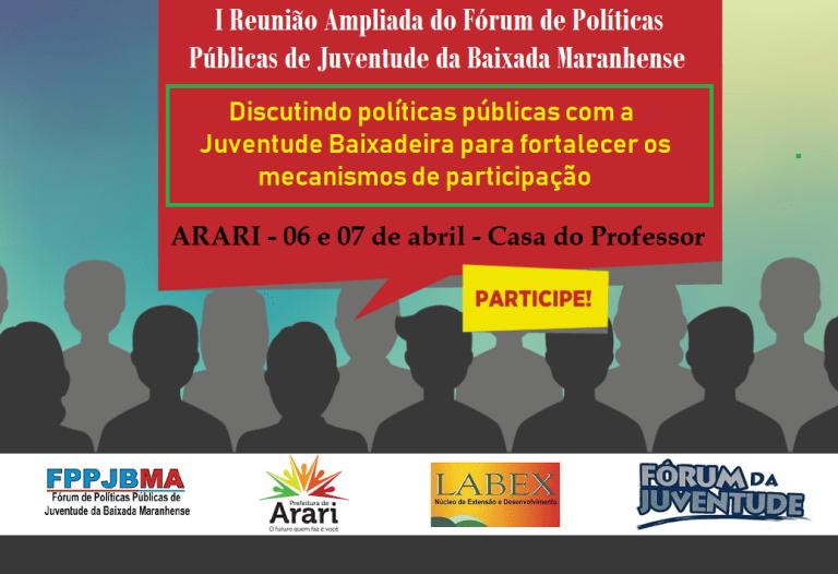 Photo of Governo participa de encontro de jovens da Baixada Maranhense