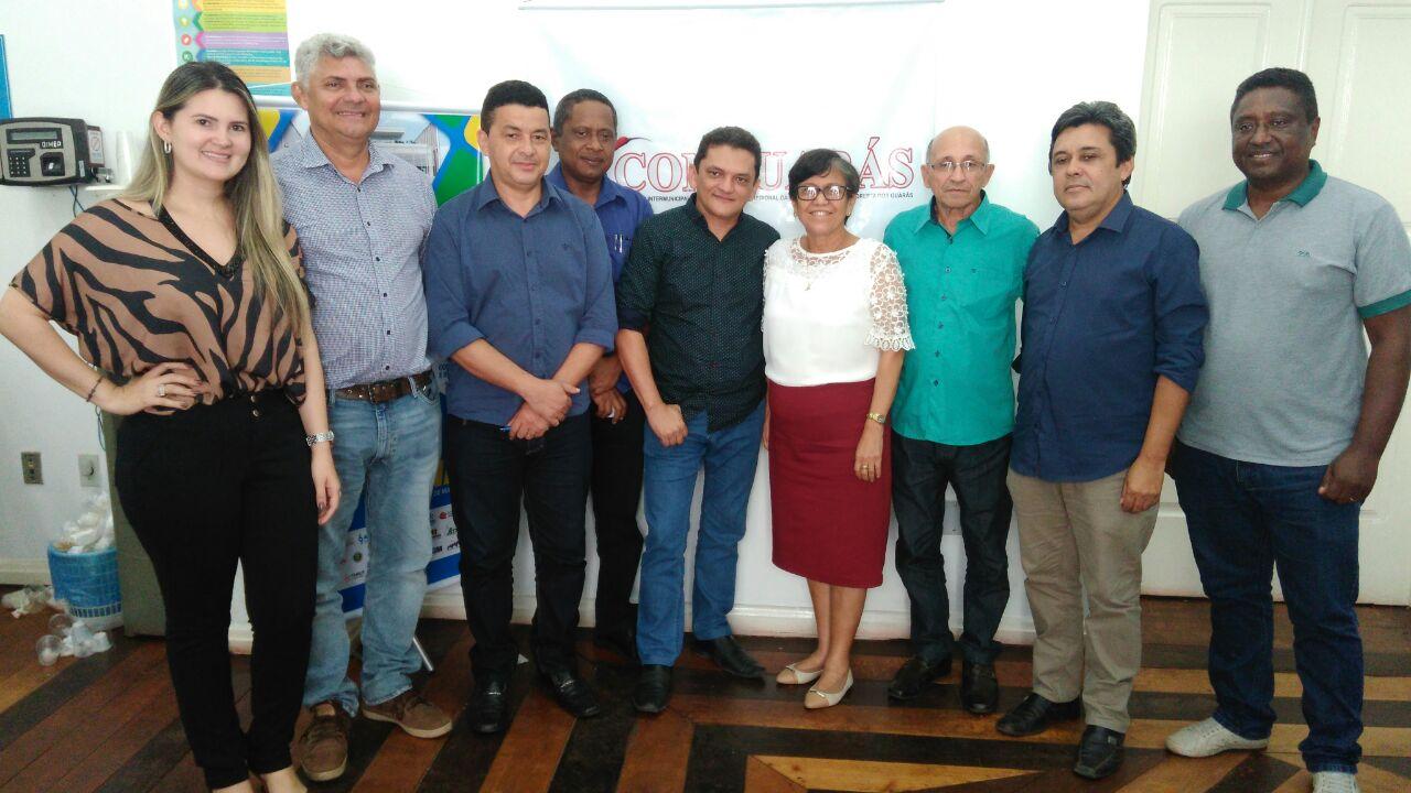 Photo of Zé Martins participa de reunião com prefeitos do Consórcio Conguarás na cidade de Pinheiro