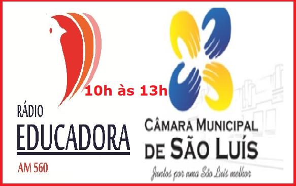 Photo of Rádio Educadora transmitirá as Sessões da Câmara Municipal de São Luís ao vivo a partir desta segunda (21)