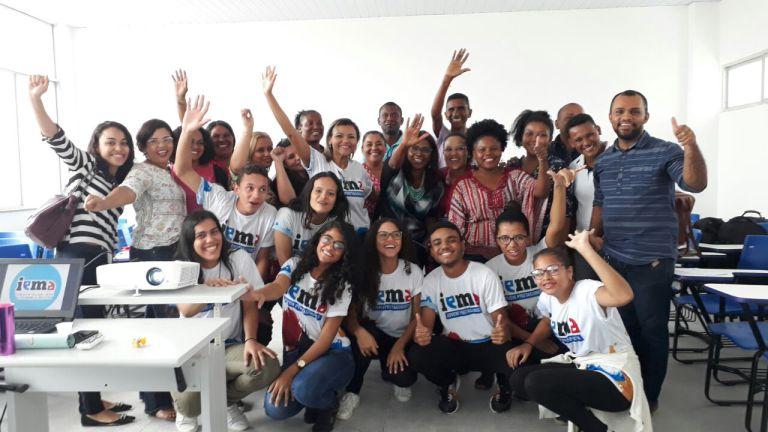 Photo of Iema acolhe comunidade escolar da Unidade Plena em Cururupu