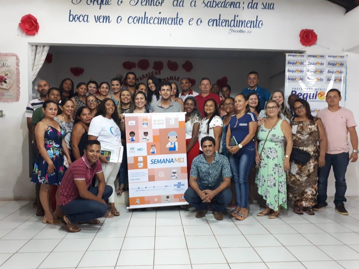 Photo of Sebrae realiza ação durante a Semana do MEI em Bequimão-MA