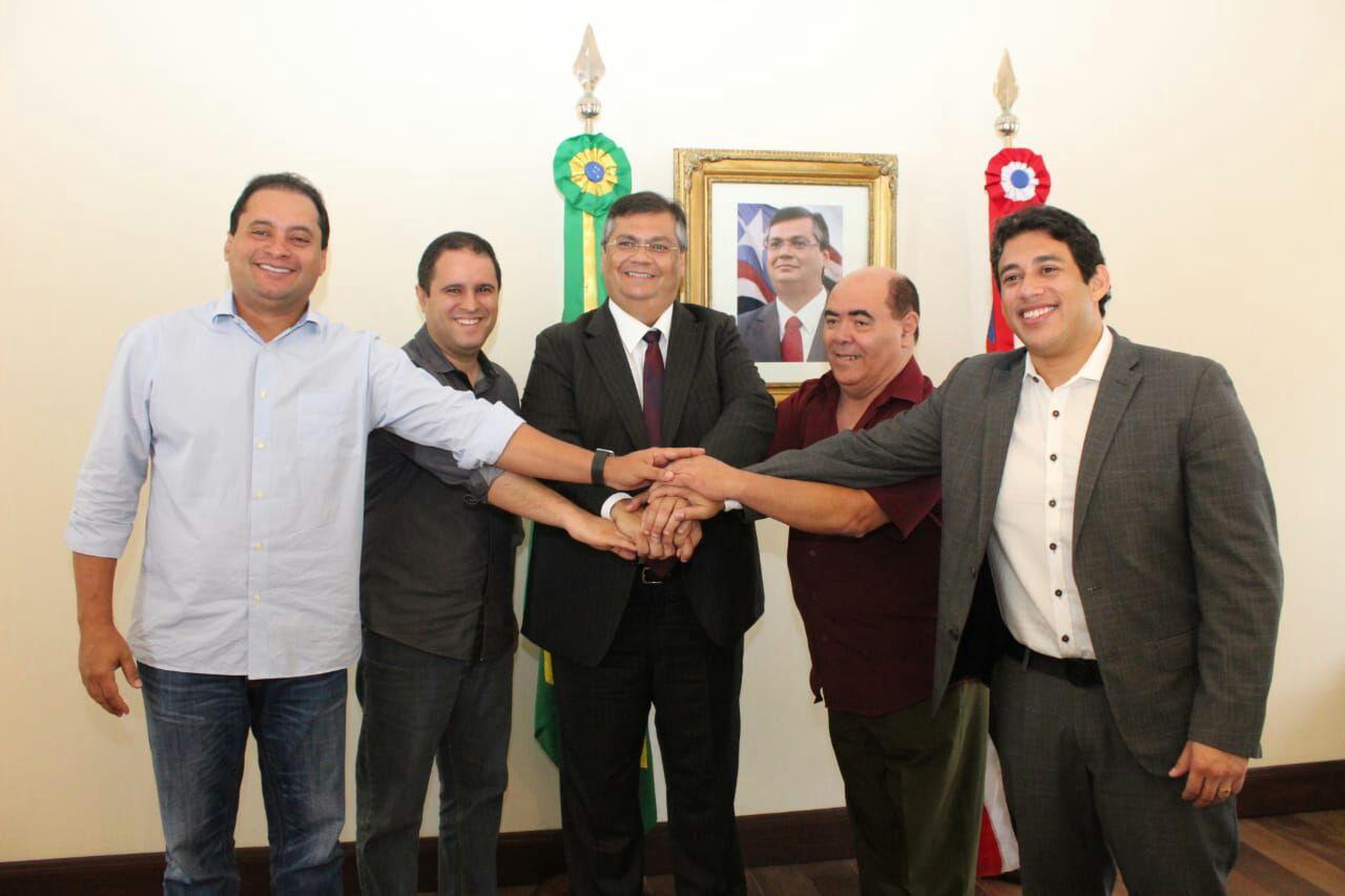 Photo of Em visita cortês ao governador representantes da Câmara Municipal discutem benefícios para a cidade