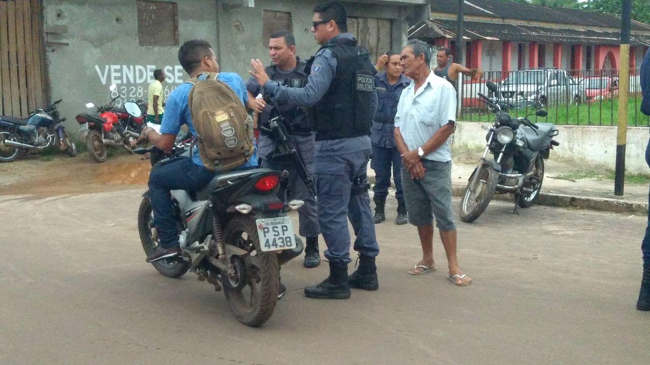 Foto de Guarda Municipal e Polícia Militar fazem fiscalização no trânsito de Bequimão