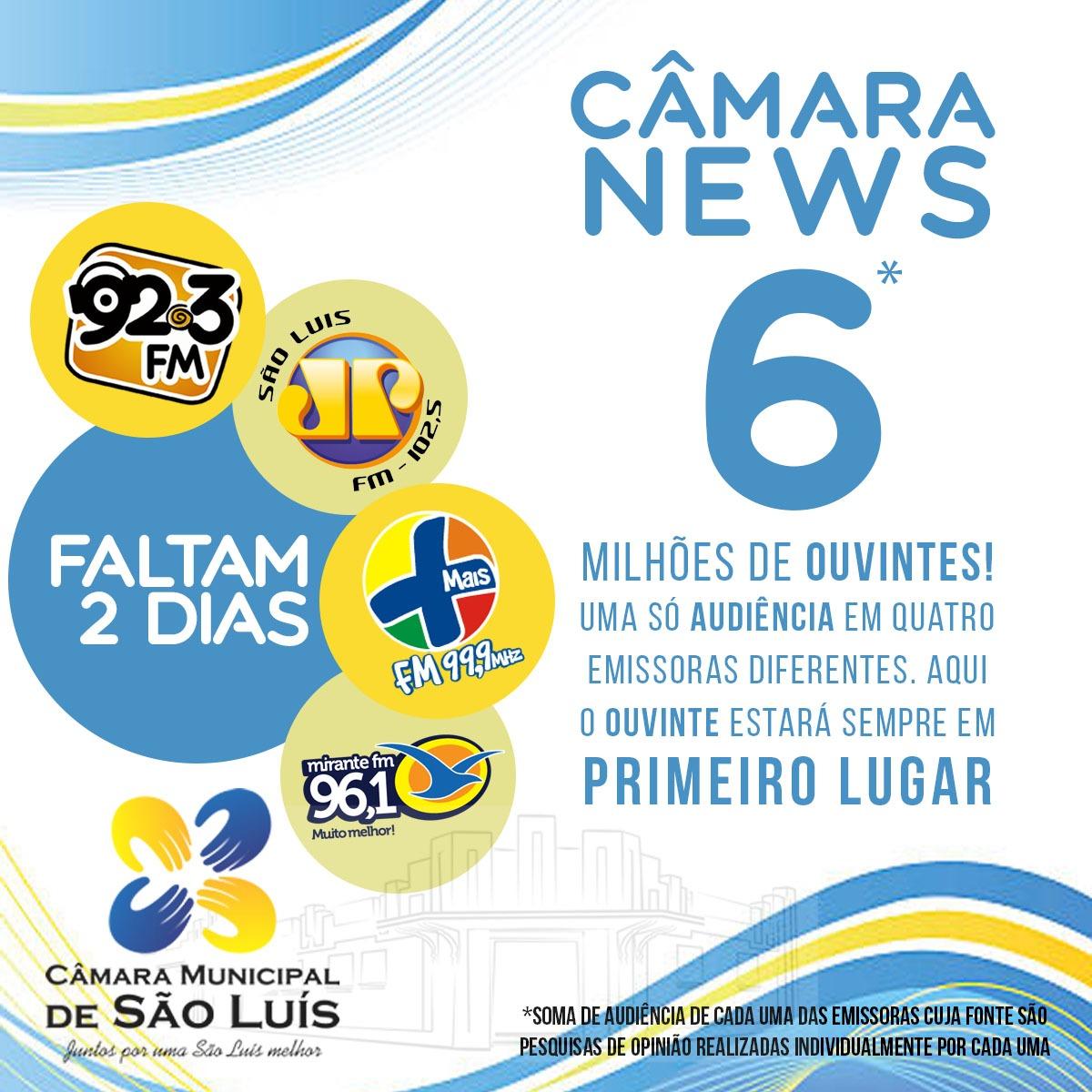 Photo of Vereadores de São Luís entrarão em milhares de casas através do Rádio AM/FM