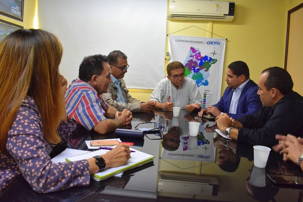 Photo of Zé Inácio discute falta d'água em Paraibano-MA