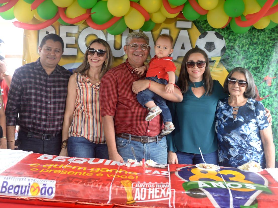Photo of Prefeito Zé Martins anuncia no Aniversário de 83 Anos de Bequimão que o município terá mais de R$ 20 milhões em obras estruturantes